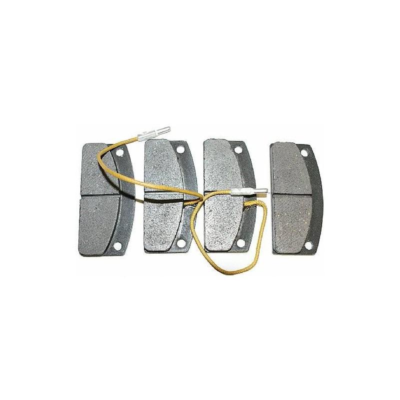 PASTIGLIE FRENO ANTERIORI H25MM LIGER X-TOO BIN409001108LIG