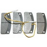 PASTIGLIE FRENO ANTERIORI H25MM MICROCAR BIN409001108MICRO