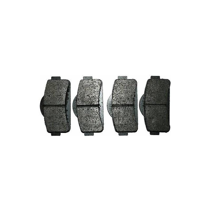 PASTIGLIE PATTINI FRENO ANTERIORI MICROCAR MGO/M8 MGO409001008